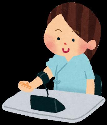 血圧測定 健康診断