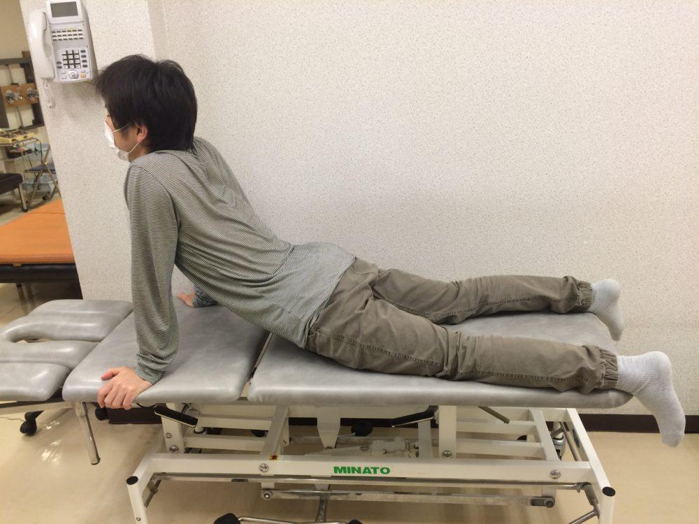 EIL 臥位での腰伸展